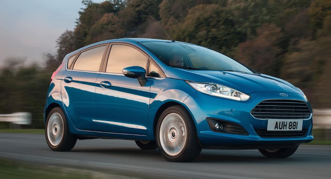 Ford Fiesta blau EU-Fahrzeug kaufen