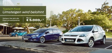 Ford Umweltprämie 2015