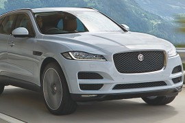 Jaguar F-Pace Crossover SUV