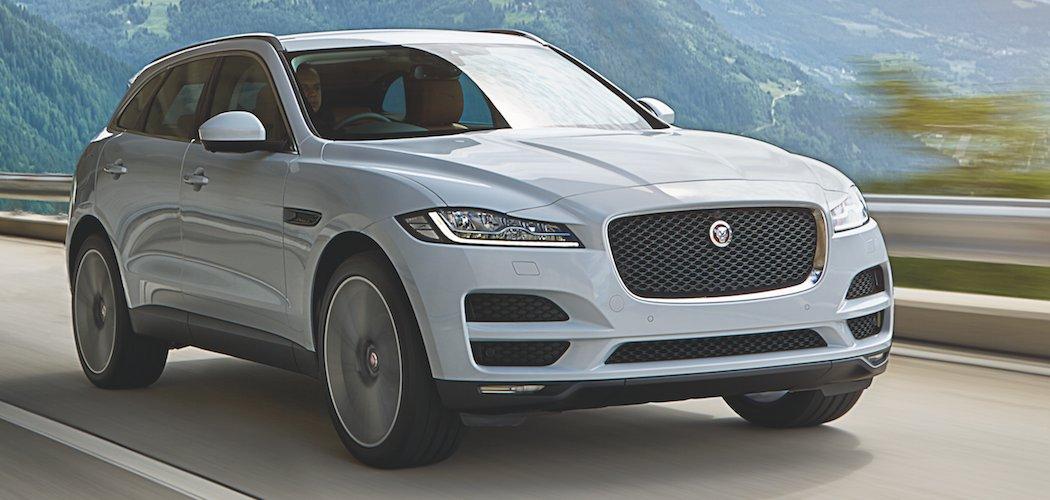 Jaguar F-Pace Crossover SUV