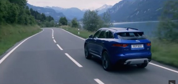 Jaguar F-Pace Video 2016