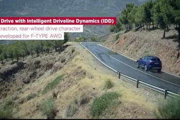 Jaguar F-Pace Video Fahrwerk
