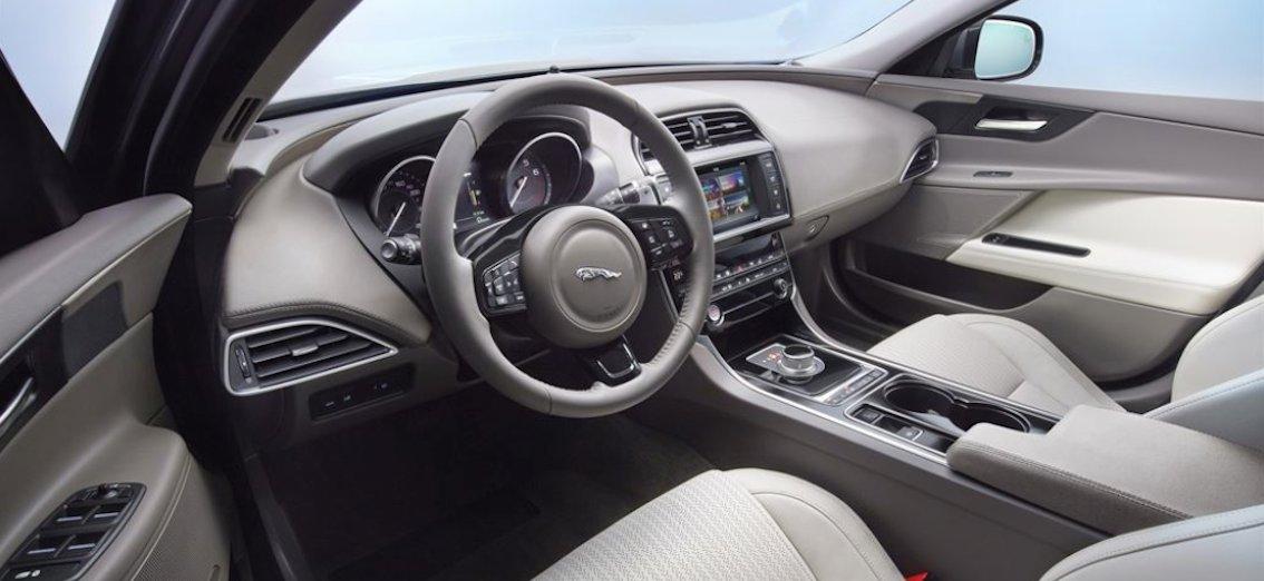 Jaguar XE Innenausstattung 2016