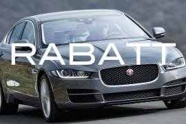 Jaguar XE Rabatt Aktion