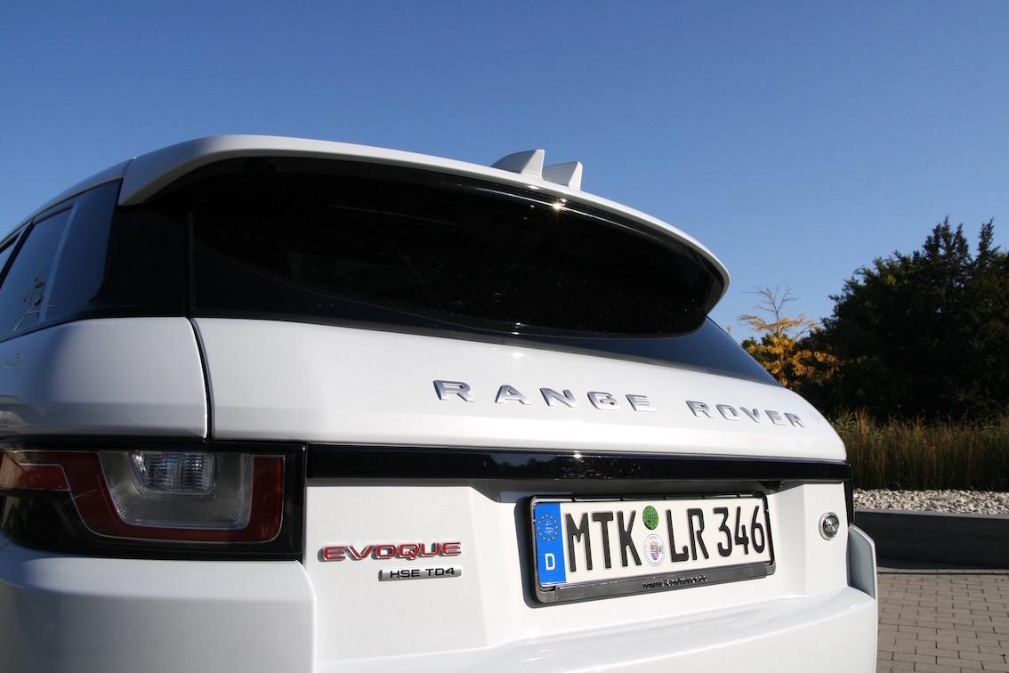 Range Rover Evoque 2016 Dachspoiler