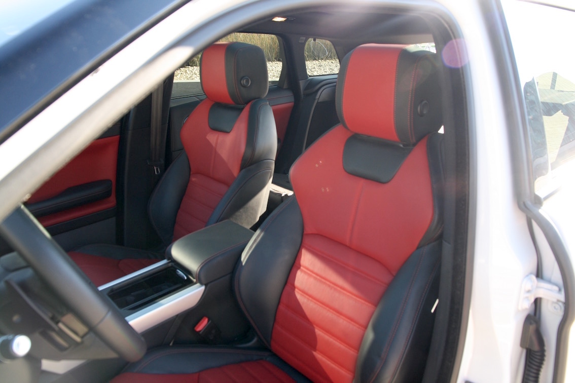 Range Rover Evoque 2016 Fahrersitze