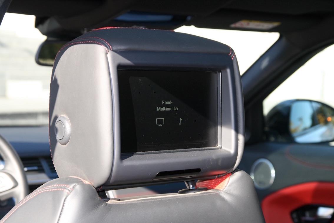 Range Rover Evoque 2016 Kopfstützen hinten