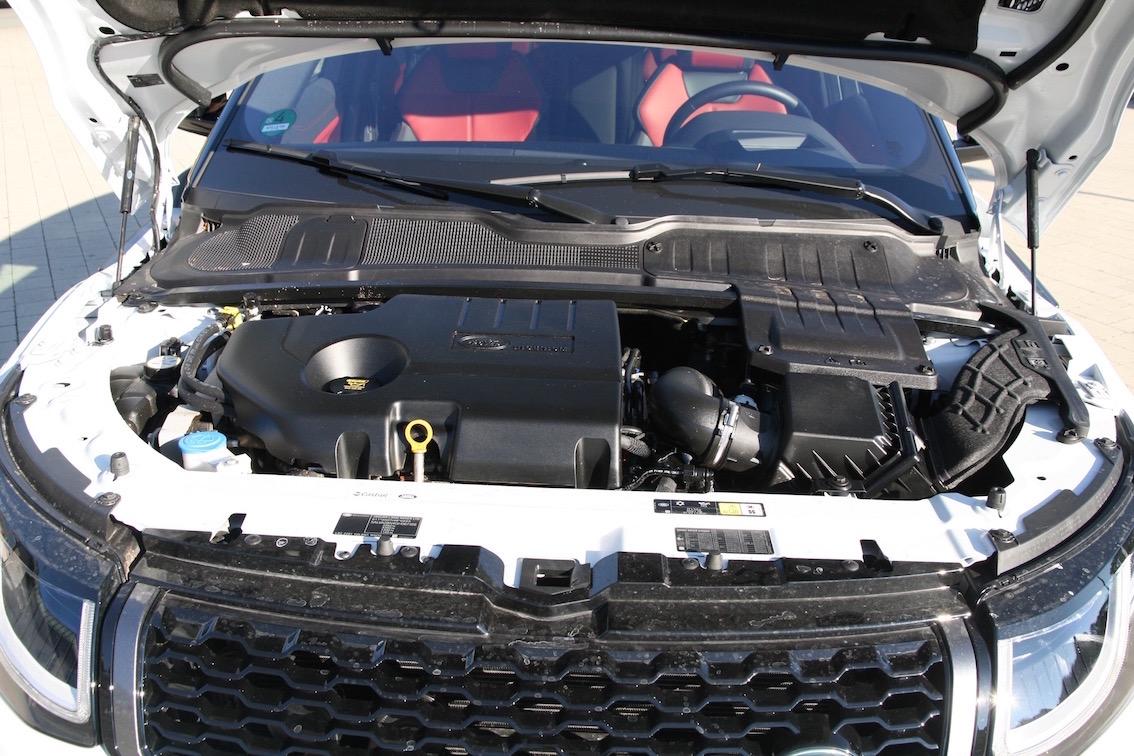 Range Rover Evoque 2016 Motor