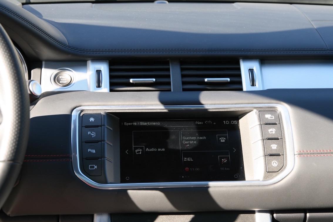 Range Rover Evoque 2016 Navi