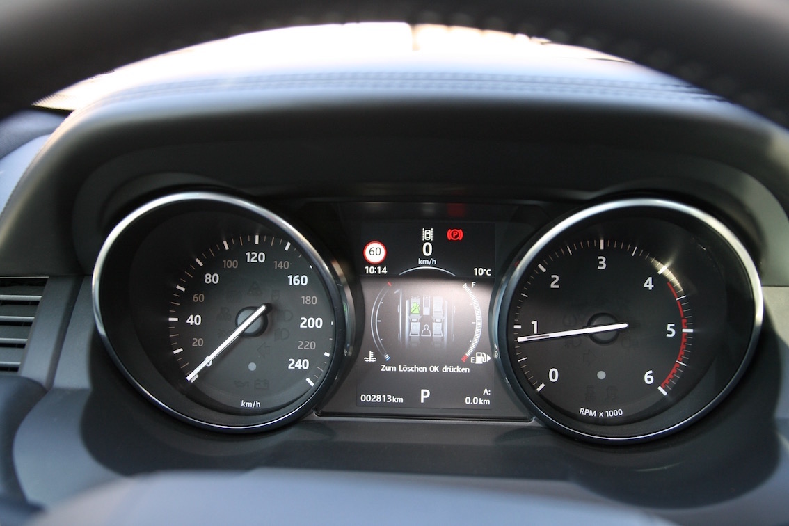 Range Rover Evoque 2016 Tachometer