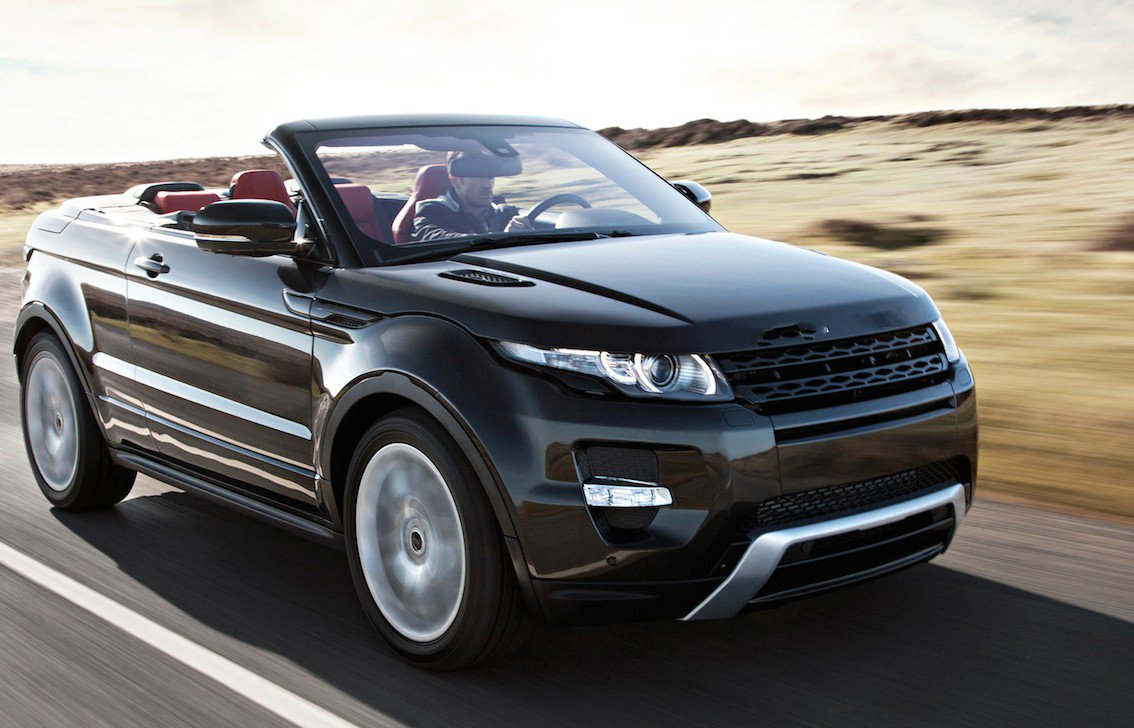 vorstellung des neuen range rover evoque cabrio 2016. Black Bedroom Furniture Sets. Home Design Ideas