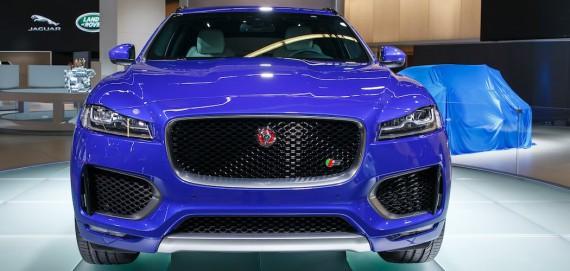 Jaguar SUV F-Pace Geländewagen