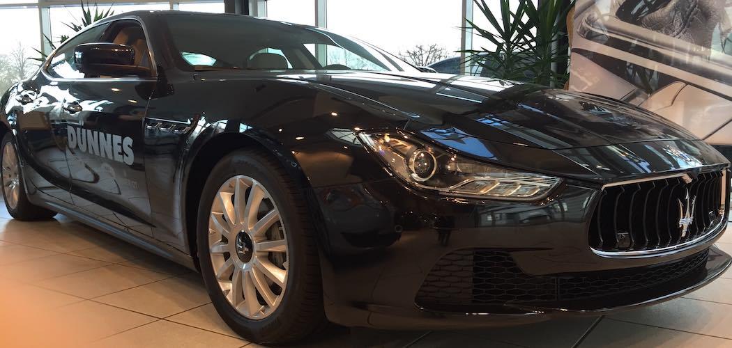 Maserati Ghibli Diesel Schwarz