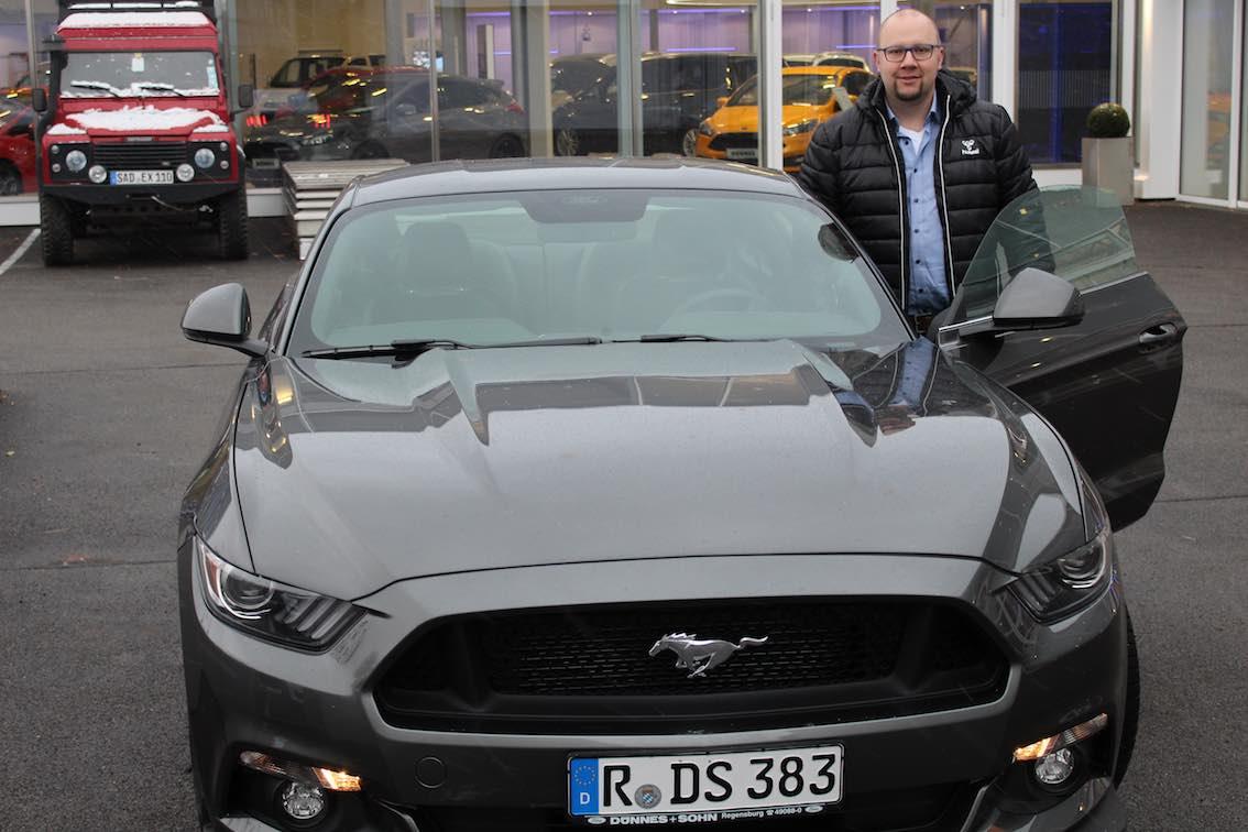 Mustang 2015 Fahrbericht