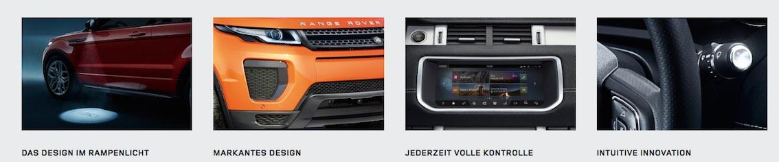 Range Rover Evoque Cabrio 2017 Ausstattung