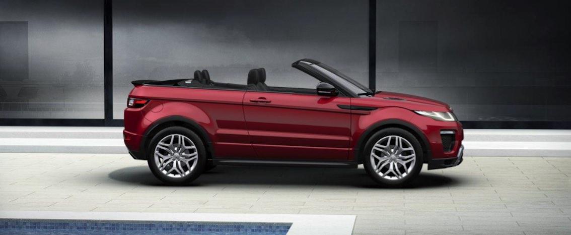 range rover evoque cabrio farben kauf leasing. Black Bedroom Furniture Sets. Home Design Ideas