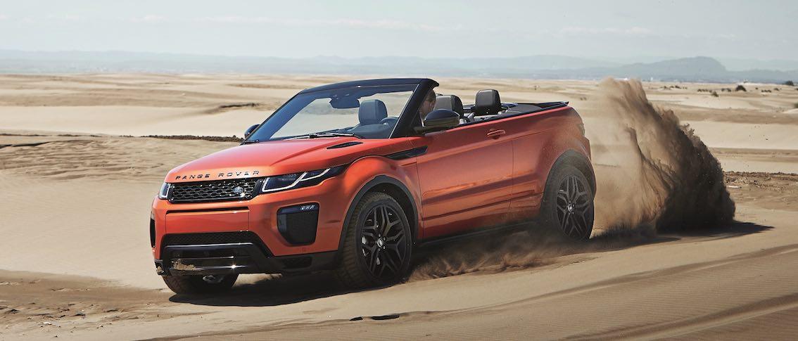 Range Rover Evoque Cabrio Wüste
