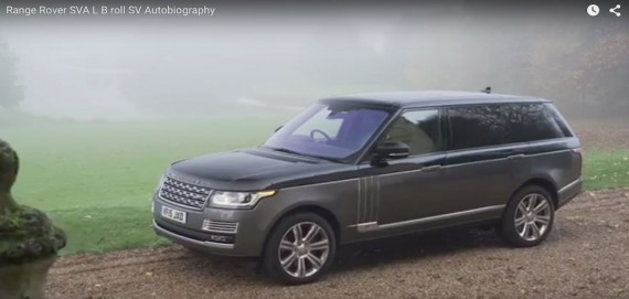 Video Range Rover SVA Long