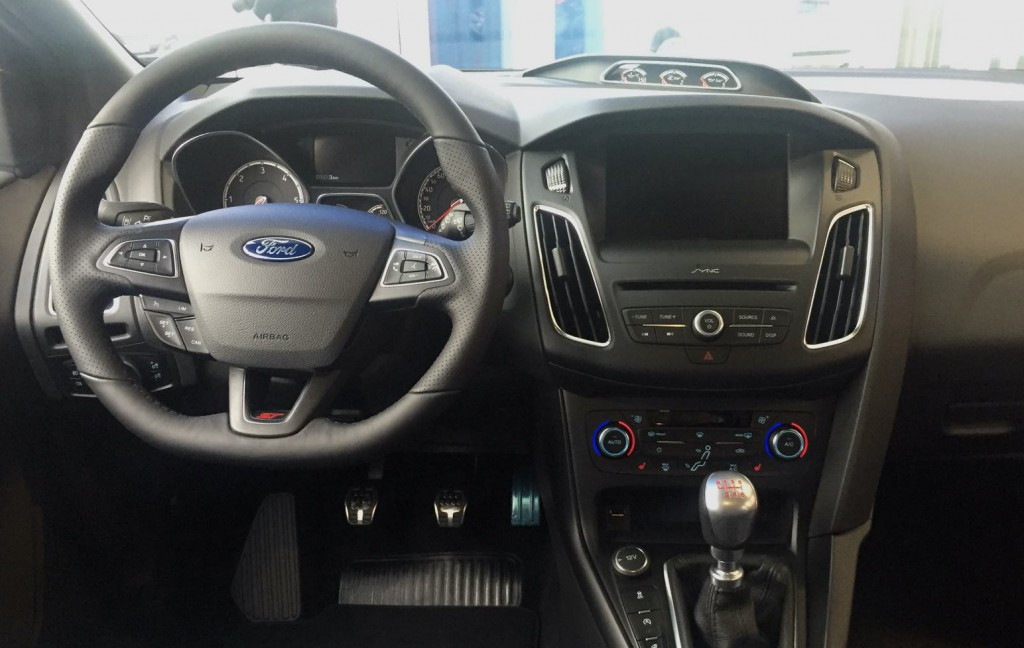 Ford Focus ST blau Angebot