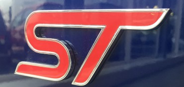 Ford Focus ST blau Leasing Angebot Beitragsbild