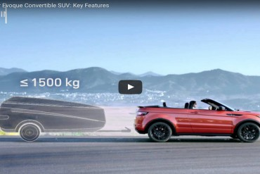 Video Range Rover Evoque Cabrio