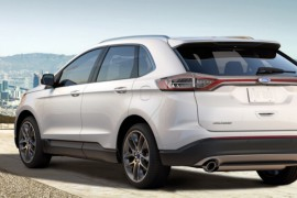 Ford Edge 2016 weiss