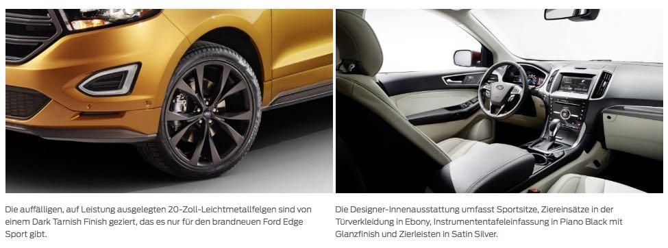 Ford Edge Fahrbericht 2016