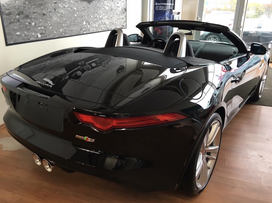 Jaguar F Type Leasing Angebot Cabrio AWD Allrad
