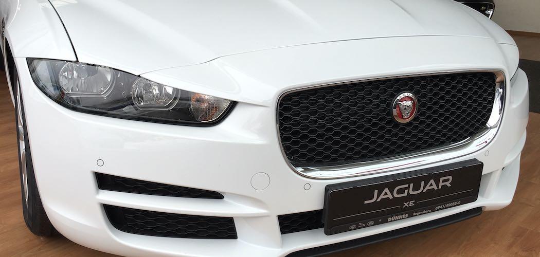 Jaguar XE weiss Leasing