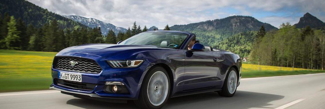 Mustang GT 2016 Cabrio blau