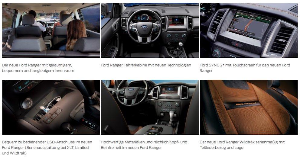 Ford-Ranger-2016-Innenausstattung