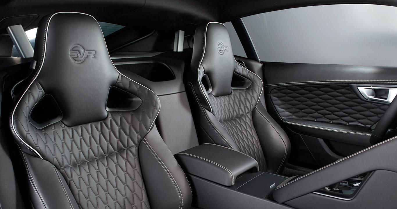 Jaguar F-Type SVR 2017 Sitze