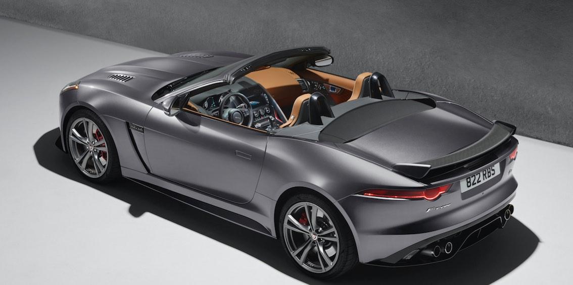 Jaguar F-Type SVR Cabrio hinten