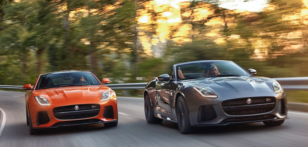 Jaguar F-Type SVR Cabrio und Coupe