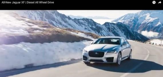 Jaguar XF 2016 Video