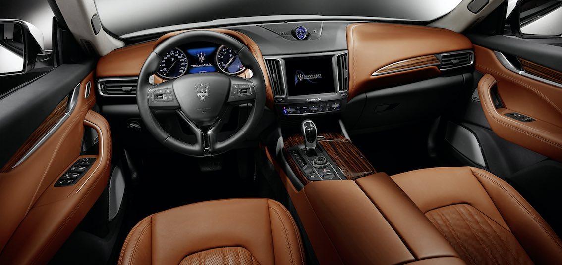 Innenausstattung  Maserati Levante Innenausstattung -