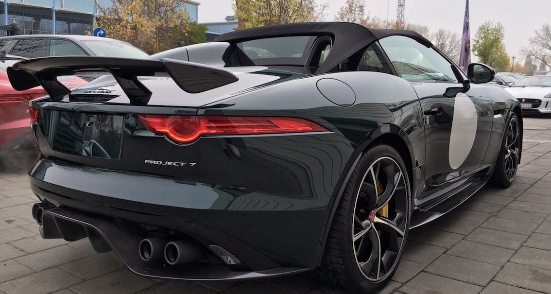 F-Type Project 7 hinten