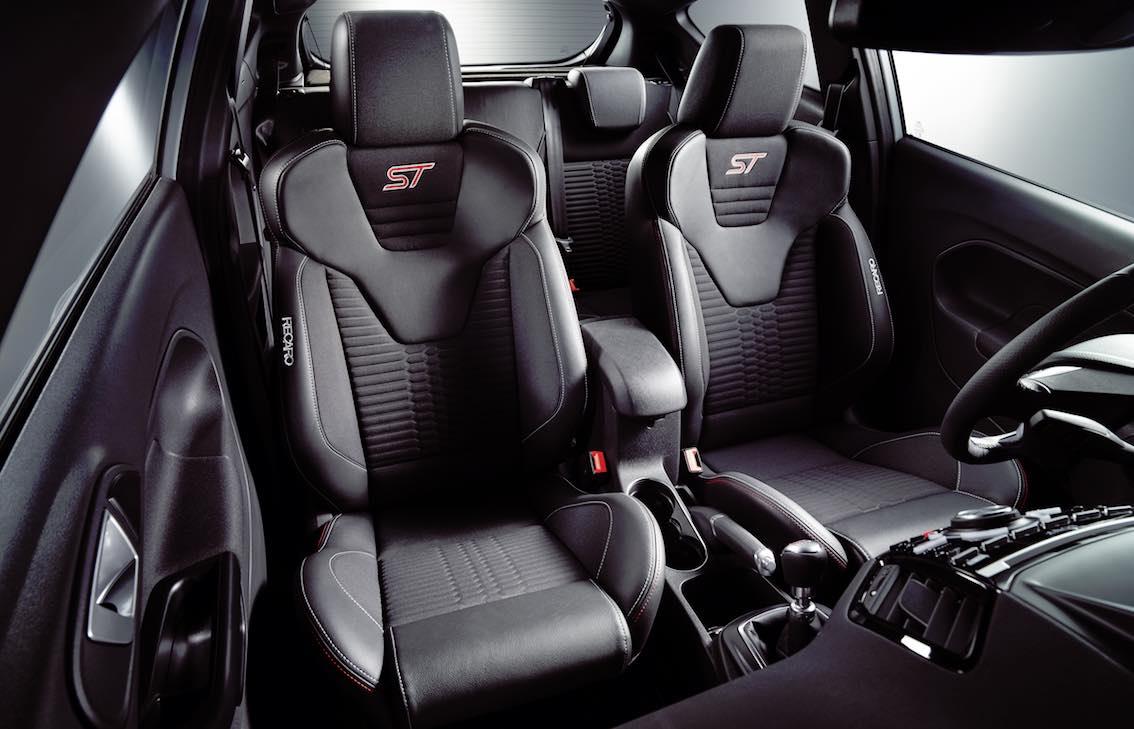 Ford Fiesta ST200 Sitze