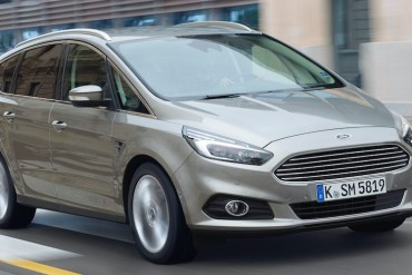 Ford S-Max Silber vorne