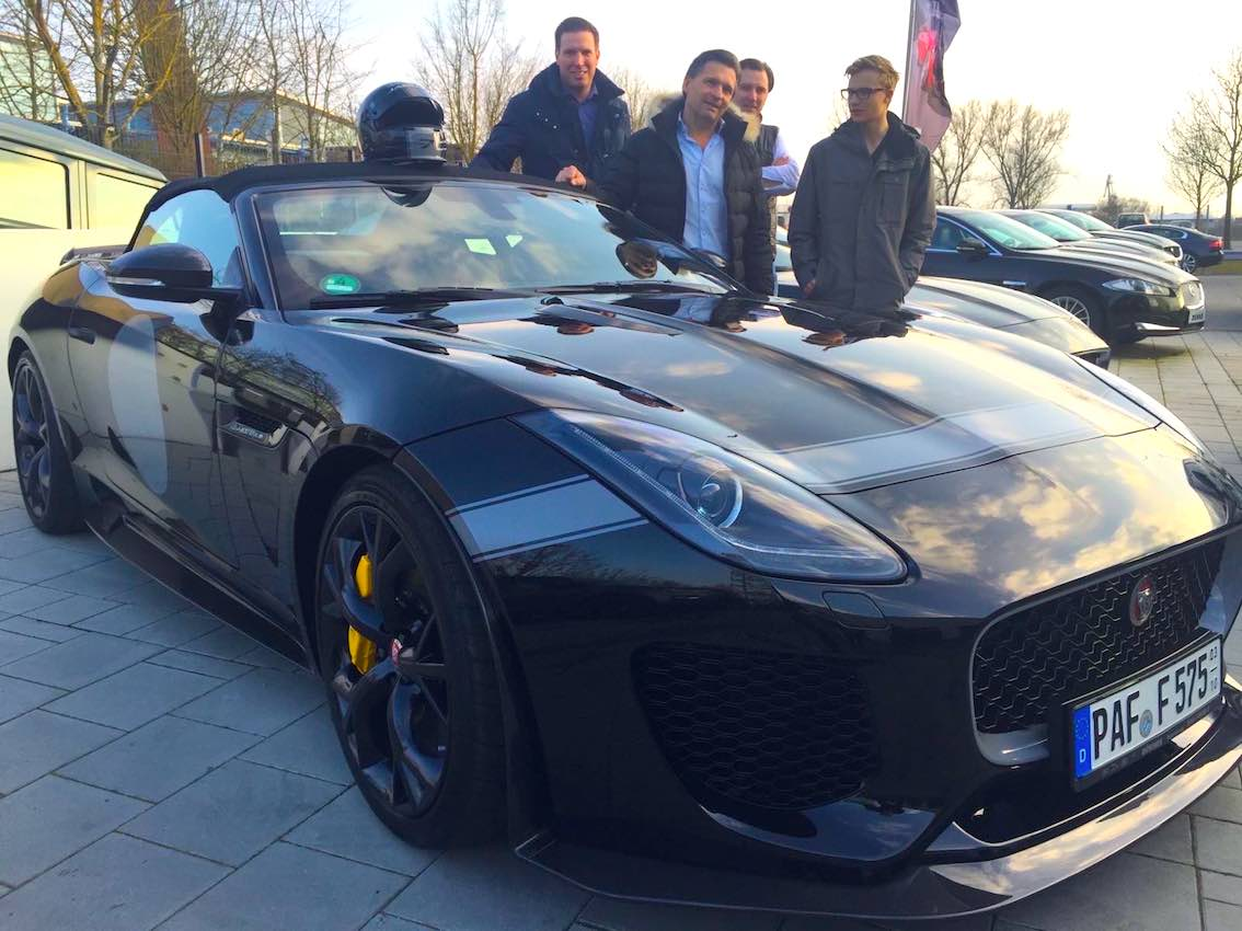 Jaguar F-Type Project 7 Übergabe
