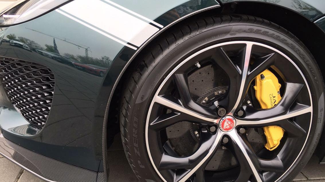 Jaguar F-Type Project7 Felgen