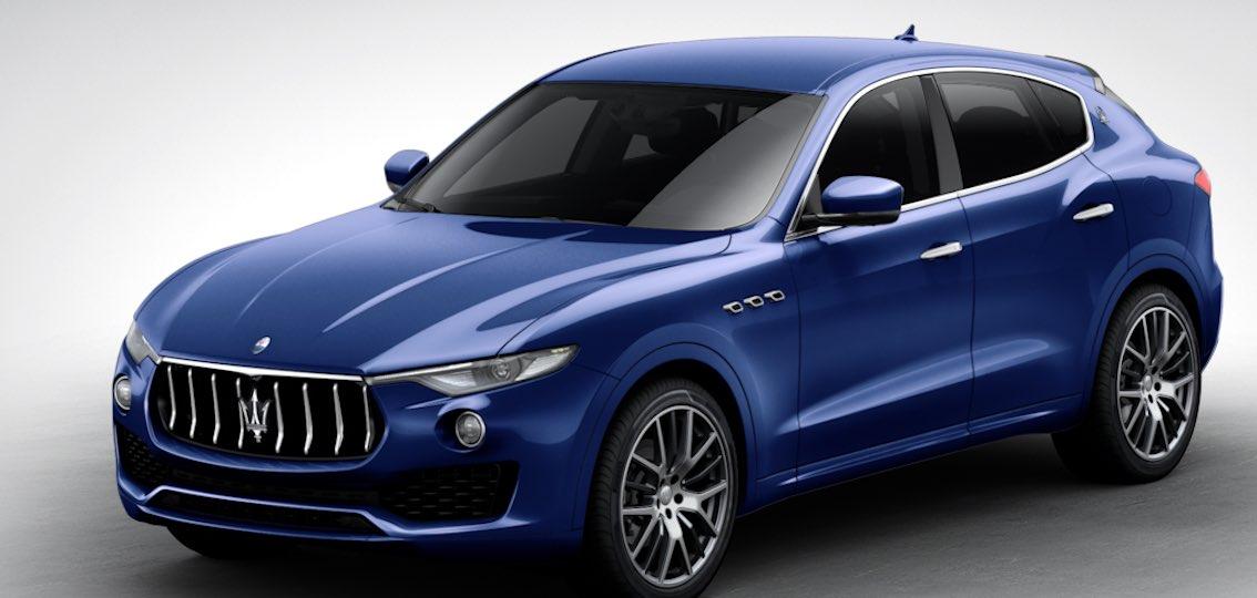 Maserati Levante Blu Emozione