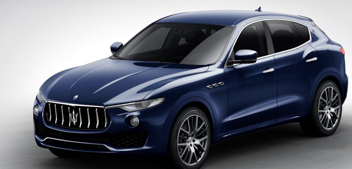 Maserati Levante Blu Passione