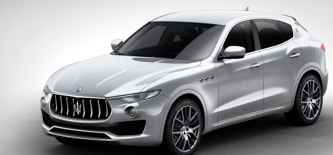 Maserati Levante Grigio Metallo
