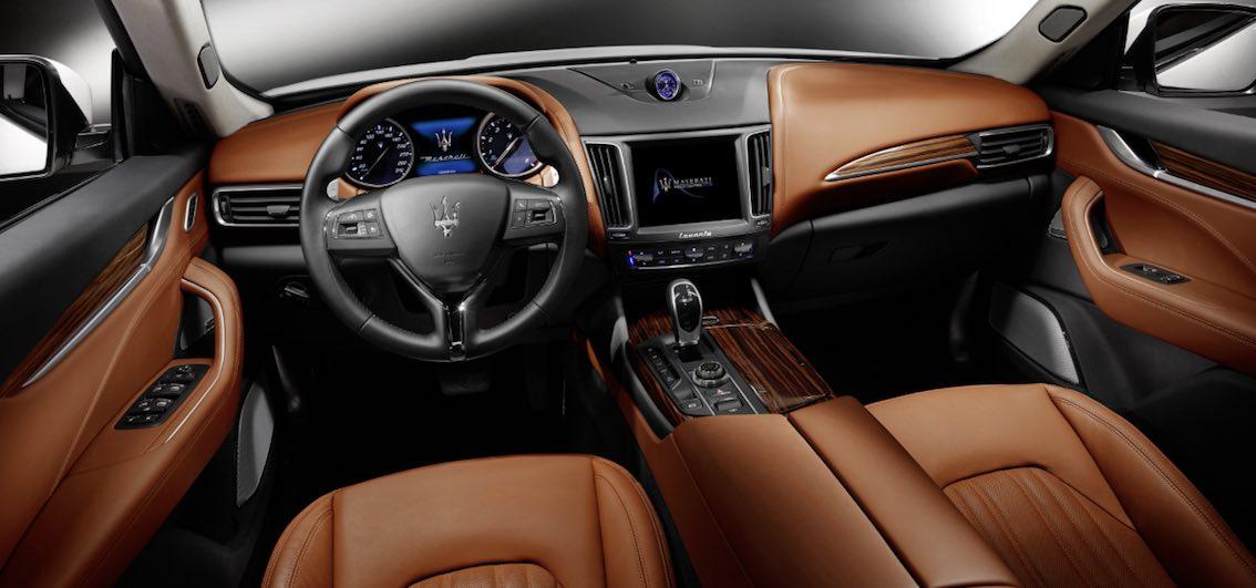 Maserati Levante Innenausstattung braun