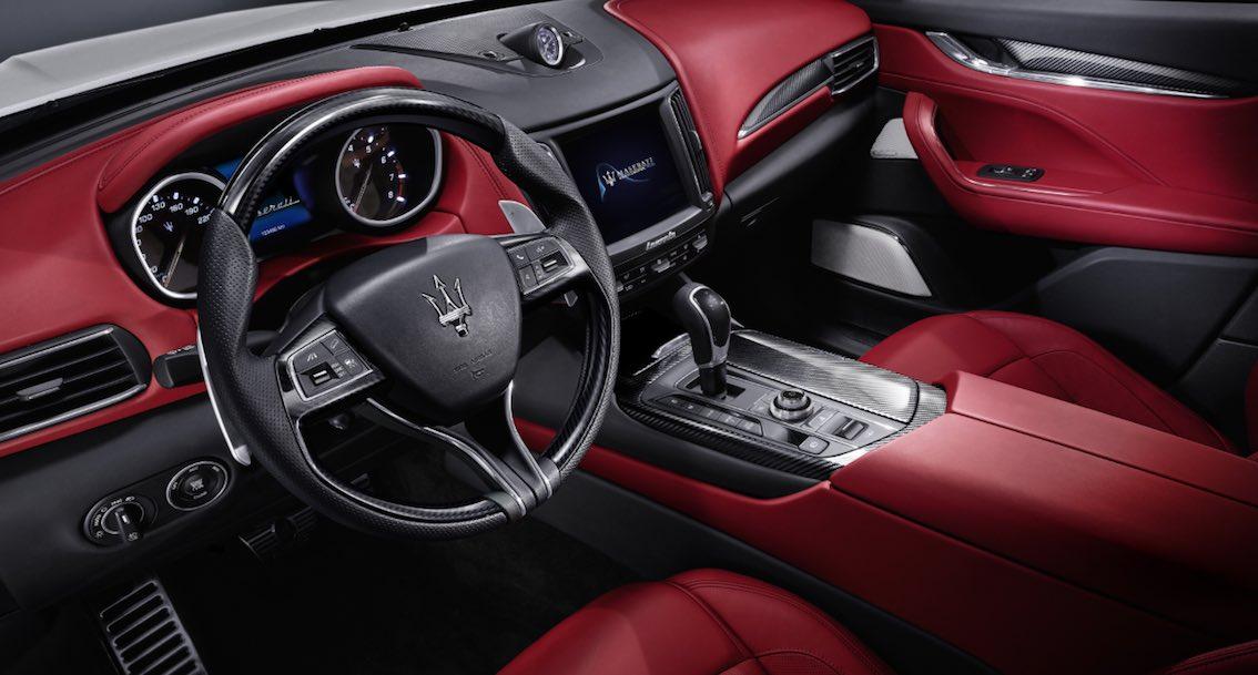 Maserati Levante Innenausstattung