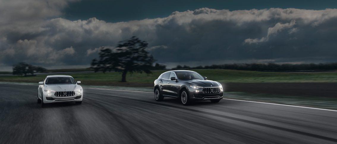 Maserati Levante Nacht