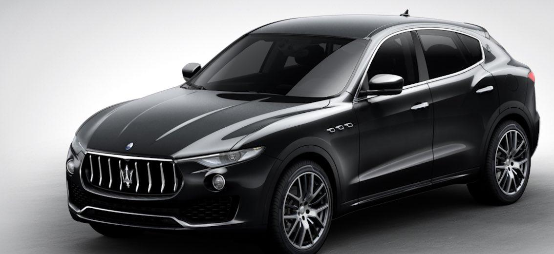 Maserati Levante Nero Ribelle