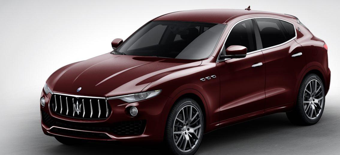 Maserati Levante Rosso Rubino