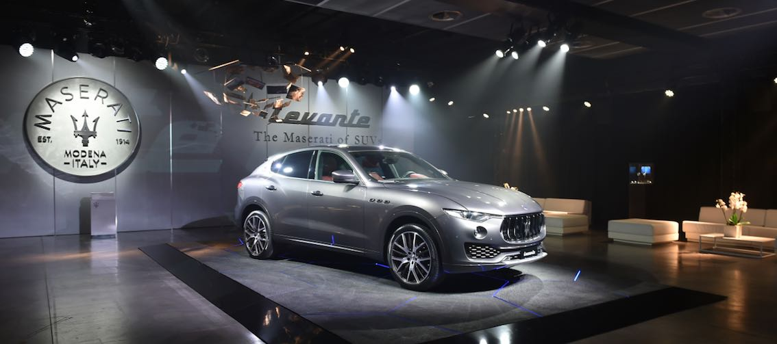 Maserati Levante SUV MEsse